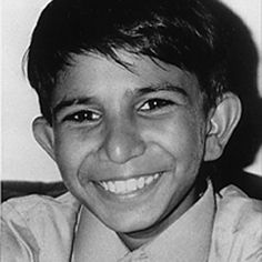 Iqbal Masih who was assassinated for campaigning for the rights of child workers. His story is in the chapter entitled 'Battlers' in Tough Stuff.