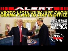 """OBAMA's Frightening words Confirm DIABOLIC NWO saying """"It's Done"""" - 3rd Term/MARTIAL LAW - YouTube"""
