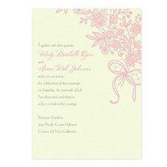 Grace Wedding Invitations by MyGatsby.com