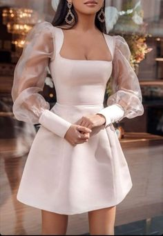 Glamouröse Outfits, Pretty Outfits, Pretty Dresses, Cute Casual Outfits, Stylish Outfits, Beautiful Dresses, Stylish Dresses, Ball Dresses, Short Dresses