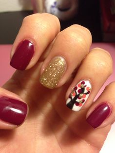 More nails by the wonderful Vange! :) fall nails