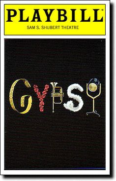 Playbill Cover for Gypsy at Shubert Theatre - Opening Night, May 2003