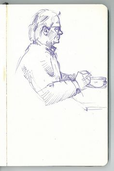 Another one cafe drawing | Flickr - Photo Sharing!