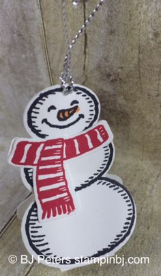 Snow Place, Snow Friends, stampin' Up!, BJ Peters