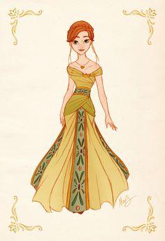 Anna - Princess Designer Collection by alexanderbim.deviantart.com on @deviantART