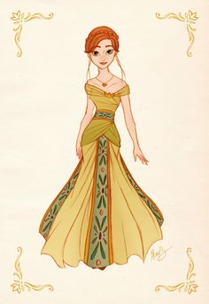 Anna - Princess Designer Collection by alexanderbim.deviantart.com on @deviantART