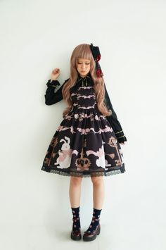 UPDATE: Size XL is available for Stamp Albums ***Mr Rabbit's Key*** JSK >>> http://www.my-lolita-dress.com/stamp-albums-mr-rabbit-s-key-lolita-jumper-dress-sa-1