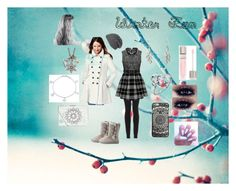 Winter Fun by kaypoppinchic on Polyvore featuring polyvore, fashion, style, Via Spiga, Charlotte Russe, Bling Jewelry, Sandra Magsamen, Vera Bradley, Lancôme, Winter and fun