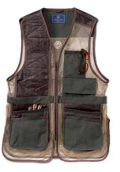 Beretta Two-Tone Vest : Nicashooting.com - The Most Comprehensive Selection of Target Shooting and Upland Bird Hunting Accessories on the Internet.