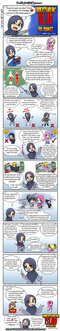 So cute and true! Once i thought i want to take out my hijab but after read it i change my mind :-)