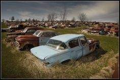 junk classic cars | Junk yards for old cars in Missouri? - THE H.A.M.B.