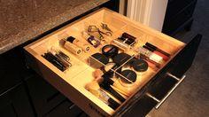 Makeup drawer organizer made online at OrganizeMyDrawer.com