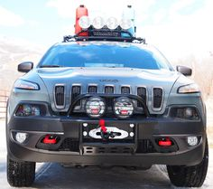 2014 2018 Jeep Cherokee Trailhawk Matte Black Vinyl Hood