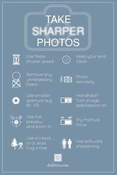 10 tips how to take sharper photos This article will explain why your images might be blurred and gives you 10 tips to take sharper photos on your next trip travel photography phototips photog - Dslr Photography Tips, Photography Cheat Sheets, Photography Challenge, Photography Tips For Beginners, Photography Lessons, Photography Tutorials, Digital Photography, Travel Photography, Free Photography