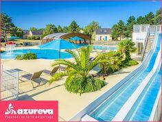 Gagnez votre séjour Azureva sur @femmeactuelle Stations De Ski, Fair Grounds, House Design, Outdoor Decor, 15 Avril, Travel, Mai, Home Decor, Covered Pool