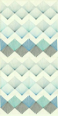 Creative Labores, Modernas, Illustration, Design, and Pattern image ideas & inspiration on Designspiration Geometric Patterns, Graphic Patterns, Geometric Shapes, Motifs Textiles, Textile Patterns, Pretty Patterns, Color Patterns, Surface Design, Surface Pattern