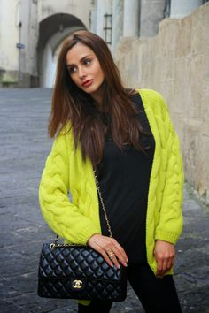 yellow and total black