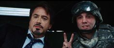 """Peace, I love peace. I'd be out of a job with peace.""  -Tony Stark"