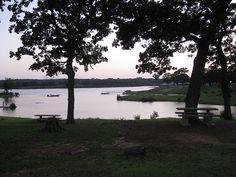 Lake Texoma catfish bay