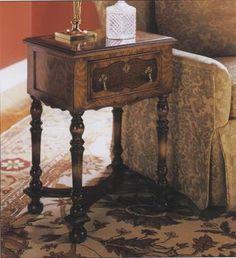 http://www.lockstockandbarrel-uk.com/product-detail.php/William-and-Mary-Walnut-Side-Table-38/
