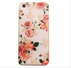 For-iphone-Model-2016-New-Design-Cute-Flower-Pattern-Phone-Hard-Back-Case-Cover