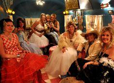 the PiStol ANnie's & MiRAnda lambert at Junk gypsy JUNK-o-RAma prom in Miranda's airstream