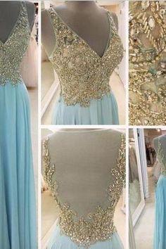 High quality prom dress,V-neck prom dress,long prom dress,prom dress,beaitiful beading prom dress,chiffion dress,elegant wowen dress,party dress,evening dress L480