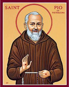 St. Pio of Pietrelcina ~ iconography