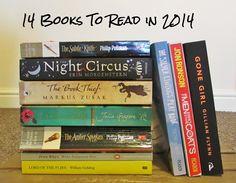14 Books To Read in 2014 @Shannon Bellanca Richard @Kristin Plucker Koller @Valerie Avlo Fuecker