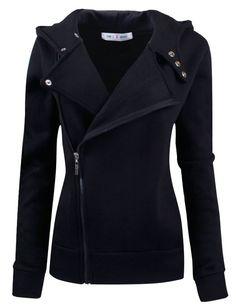 Tom's Ware Women Slim fit Zip-up Hoodie Jacket at Amazon Women's Clothing store: