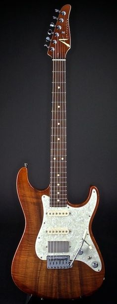 TOM ANDERSON Hollow Drop Top Classic Honey Koa Top | World Guitars