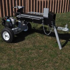This 11571 Great Northern Equipment 20 Ton Log Splitter is a two way split.  The makes the splitter fast and can produce firewood much quicker then traditional wood splitters that have auto return.  A proven USA made log splitter!