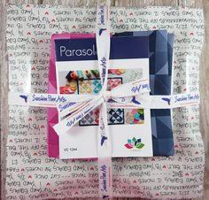 Parasol Mini Quilt Pattern and Fabric Kit - V and Co - Vanessa Christenson - Moda - VC 1244 by SunshineFiberArts on Etsy