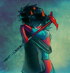 Karkat and Terezi- i think the saddest part is that Terezi really did love Vriska as a sister at least Karkat was there for her after