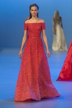 Défile Elie Saab Haute couture Printemps-été 2014 - Look 17