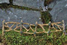 Fairy Garden Supplies. Fairy Garden Miniature Twig Fence. $5.99