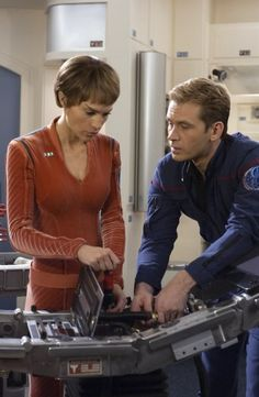 Scenes between Trip and T'Pol on Star Trek: Enterprise were always one of the highlights of the episodes for me personally. I love these two. :)