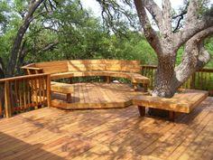 terrasse en bois ou composite, idées originales pour l'extérieur