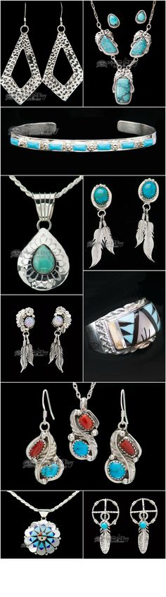 Genuine Native American jewelry uses elements of nature that all cultures love. Silver Indian jewelry is very popular for those that appreciate Native jewelry, culture and customs. Each piece of Indian jewelry is handcrafted to create a beautiful work of art. Silver earrings are very popular pieces of Native silver jewelry, and can often be found with etchings, beads or precious stones. If you like Native American style jewelry, you will love the great selection you find at Mission Del Rey.