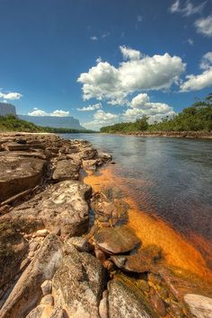 Carrao River, Canaima National Park, Venezuela