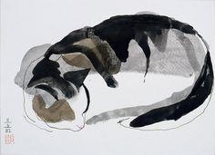'Sleeping Cat'   Anselm van Rood