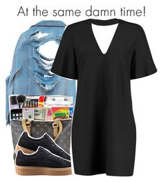 """""""6-9-2017 2:15 PM EST"""" by kaydabae4life ❤ liked on Polyvore featuring High Heels Suicide, Puma and Boohoo"""