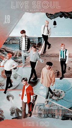 """x Seoul print ads """"Live Seoul Like I Do"""" Foto Bts, Billboard Music Awards, Bts Memes, Bts Qoutes, Bts Group Photos, Bts Aesthetic Pictures, Album Bts, Les Bts, Bts Backgrounds"""