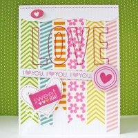 Gallery Projects - Cardmaking - Valentines Day - Two Peas in a Bucket