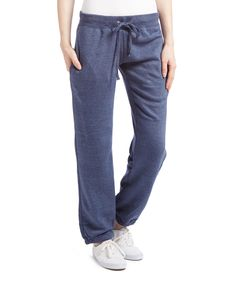 Look what I found on #zulily! Vineyard Crew Navy Pocket Tie-Waist Sweatpants - Plus Too by Vineyard Crew #zulilyfinds