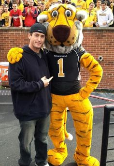 David Freese and Mizzou Tiger!  Two of my favorite things :)
