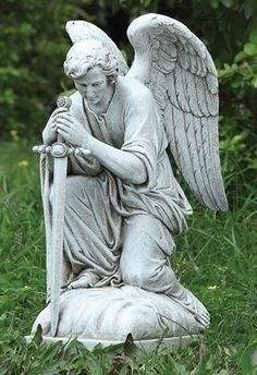angel statues - Google Search