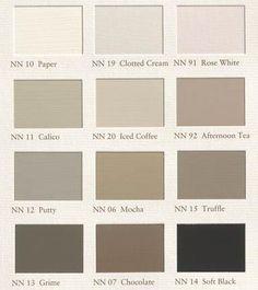 grijs bruin tinten