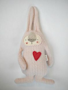Cashmere Bunny by sweetpoppycat on Etsy