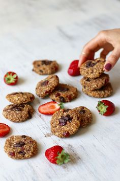 One-bowl Peanut Butter & Chocolate Oatmeal Cookies